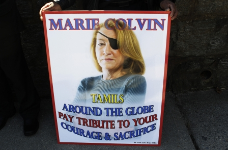 The late Marie Colvin among seven Times and Sunday Times winners at Comment Awards
