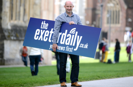 Former Northcliffe editor sets up rival website 'Exeter Daily'
