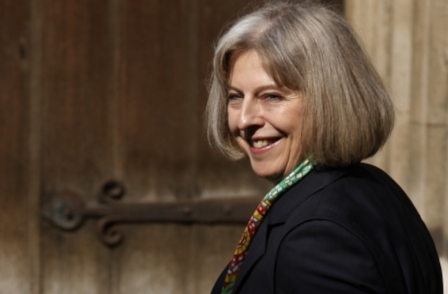 Home Sec Theresa May says police have been 'over zealous' in their pursuit of journalists' sources