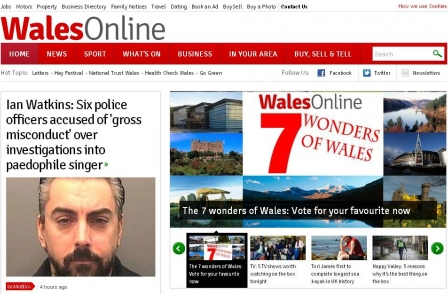 Media Wales editors Tim Gordon and Simon Farrington to leave Trinity Mirror