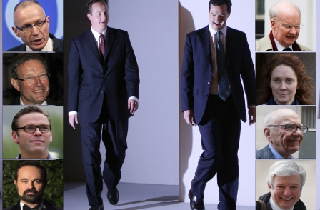 Cameron and Osborne meetings with media bosses have returned to pre-Leveson level