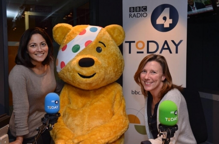 Lucky bidder can win breakfast with John Humphrys in Children in Need Auction