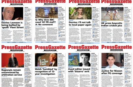 This week in Press Gazette - Journalism Weekly: MP's warning over expenses revenge