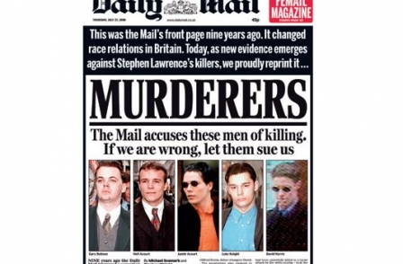 26. British journalism's greatest ever scoops: Murderers (The Daily Mail, 1998)