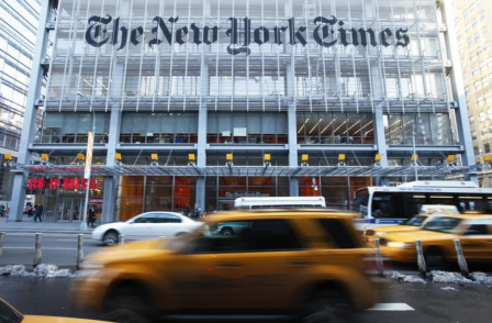New York Times journalists condemn newspaper's decision to publish controversial 'Send In The Troops' op-ed
