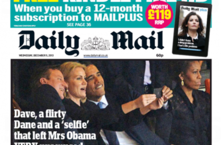 Was Obama's selfie really more important than his speech (or anything else that happened at Mandela memorial)