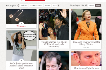 So much for 'news without the boring bits' - People closes new Buzzfeed-style website