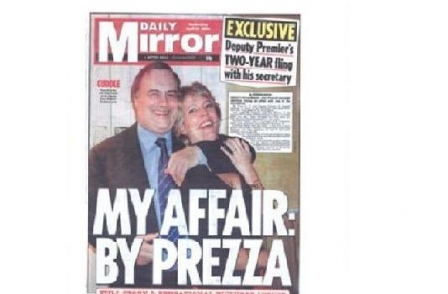38. British journalism's greatest ever scoops: My Affair by Prezza (Daily Mirror, Stephen Moyes, 2006)