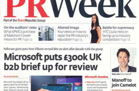 Last weekly edition of PR Week as Haymarket takes print edition monthly