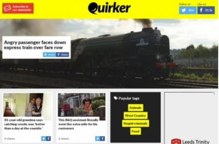 Weird news website Quirker is first title to close following Trinity Mirror purchase of Local World