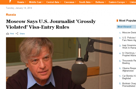 Return to Cold War tactics? US journalist barred from re-entering Russia