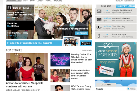 Radio Times website hits profit with traffic-boost fuelled by investment in journalism