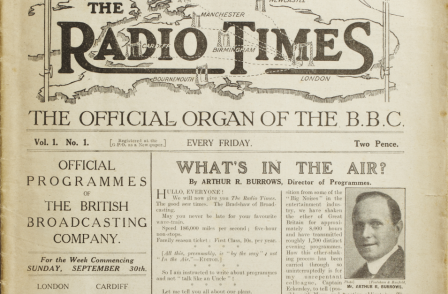 Issue one of the The Radio Times