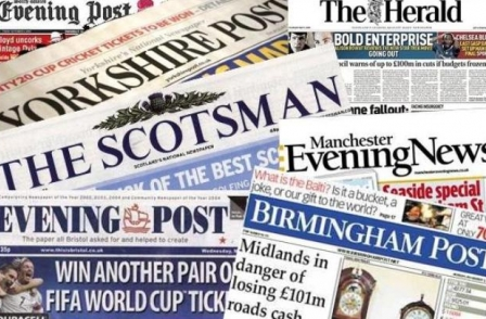 Regional daily ABCs: North and Midlands titles hit hardest as print sales in overall decline