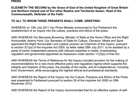 Index on Censorship confirms opposition to Royal Charter despite involvement of Hacked Off backer Steve Coogan