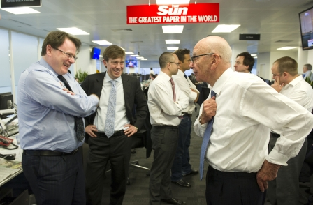 Murdoch admits 'wrong' words used in Sun meeting, but says police investigations have taken 'too long'