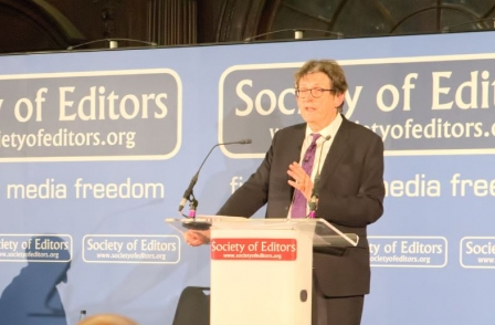Rusbridger condemns Fleet Street's 'daily monstering' of BBC and calls for debate over payments to sources