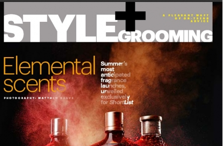 Shortlist and Elle among winners at perfume journalism awards