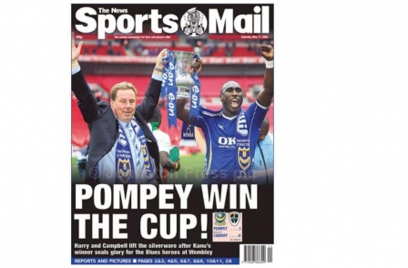 Portsmouth's Saturday night sports newspaper facing prospect of final whistle at the end of this football season