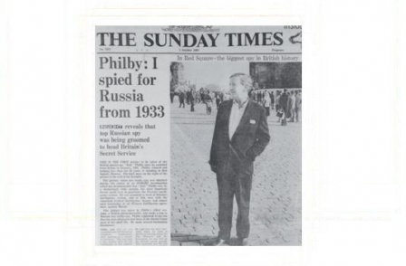8. British journalism's greatest ever scoops: Philby: I spied for Russia from 1933 (Sunday Times, 1967)