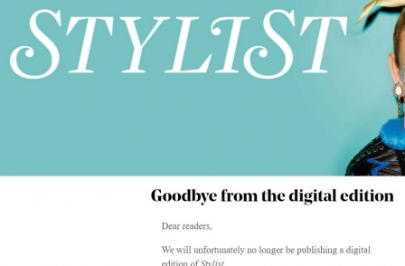 Popular tablet edition of Stylist magazine scrapped after closure of Apple Newsstand leaves it 'high and dry'