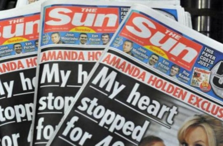 Combined print/online figures make Sun most read title