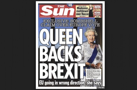 Michael Gove met Sun editor and Rupert Murdoch a week before 'Queen backs Brexit' front page