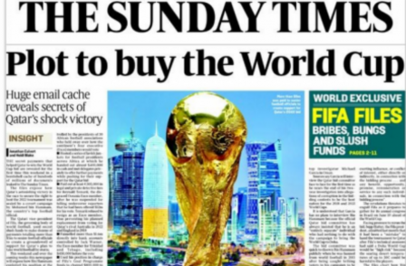 MPs quiz Sunday Times pair on FIFA corruption: 'You have done your profession a lot of good'