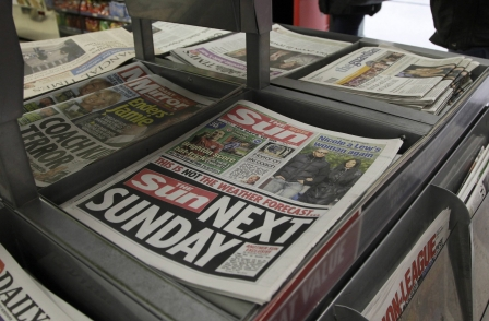 Sun says 'WORLD GONE MAD - OFFICIAL' after ASA rules Page Three date promotion was 'sexist'