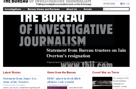 Bureau of Investigative Journalism says it had 'no responsibility' for making of Newsnight child abuse report