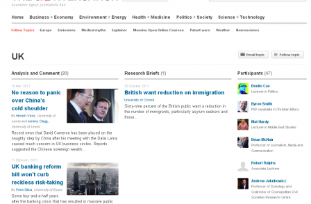 Boffin-backed news website The Conversation takes on six more editors as monthly readers exceed 1m