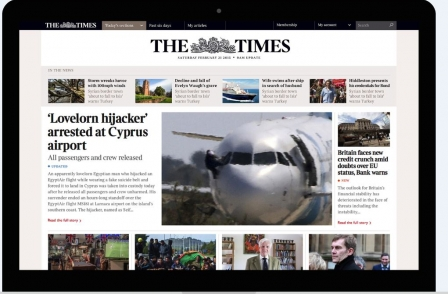 Merged Times and Sunday Times websites drop rolling news in favour of edition-based approach