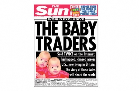 32. British journalism's greatest ever scoops: Internet Baby Traders (The Sun, Briony Warden, 2002)