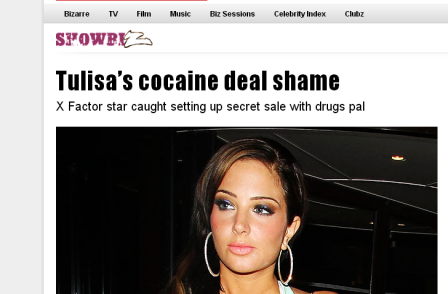 TNT administrators to pay Tulisa £42,500 damages over sex-tape pic