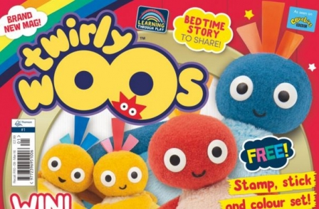 DC Thomson launches new magazine, Twirlywoos, for children aged between two and four