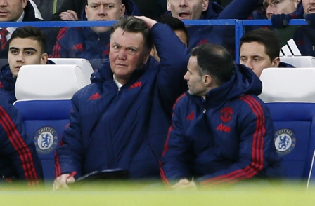 Manchester United manager Louis van Gaal hits back, telling journalist: 'You are getting the sack tomorrow'