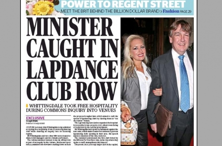 John Whittingdale still feels press freedom 'vitally important' despite having his 'faith tested to the upmost'