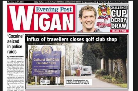 UK regional dailies lose print sales by average of 12.5 per cent: Wigan Post and The National are biggest fallers