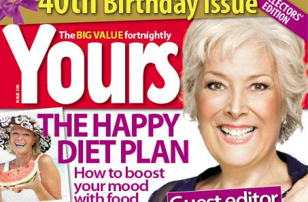 From Private Godfrey on the cover to Lynda Bellingham - mag industry survivor Yours celebrates 40 years of 'caring and sharing'