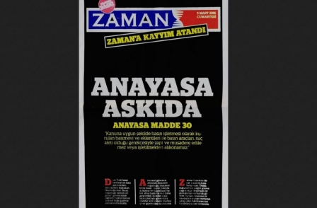 Leading UK journalists back campaign to reverse Turkish state take-over of leading opposition newspaper