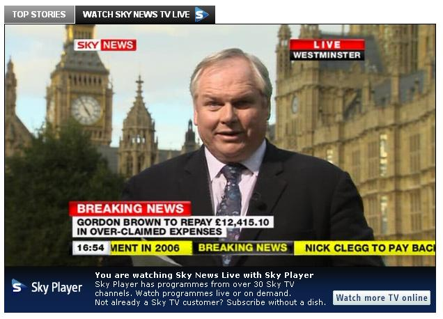Sky News cleared by BSkyB phone-hack review