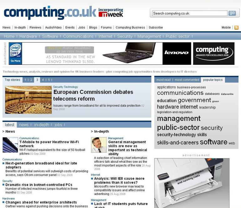 Computing diversifies into research business