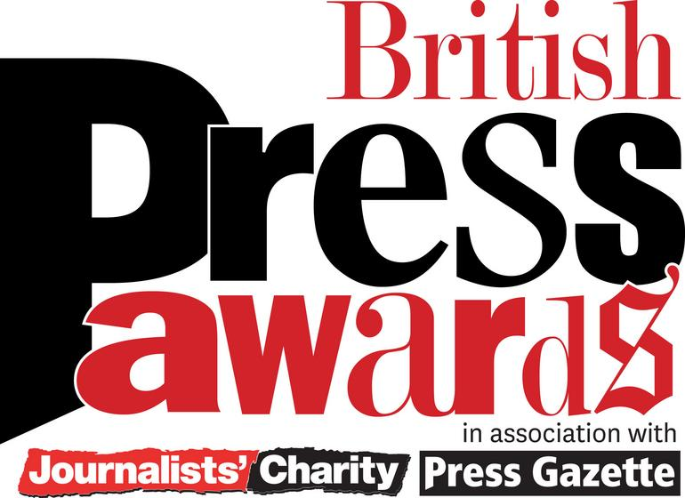 The British Press Awards - all the nominations