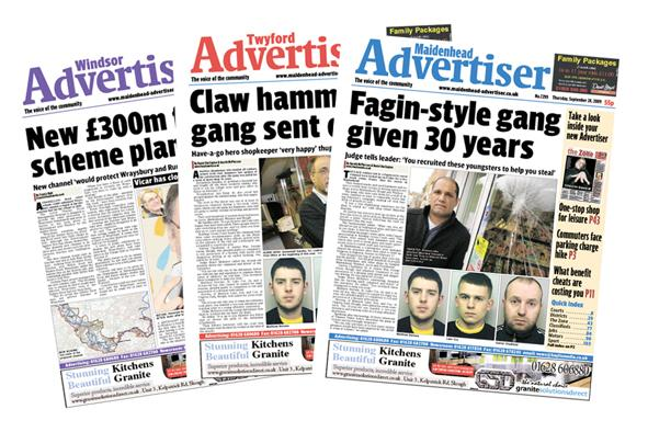 New look for Maidenhead Advertiser