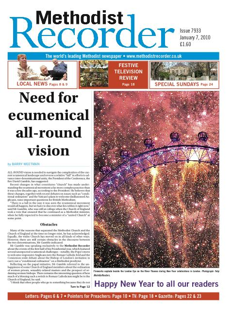 Methodist Recorder revamp for 150 years 'truth and love'