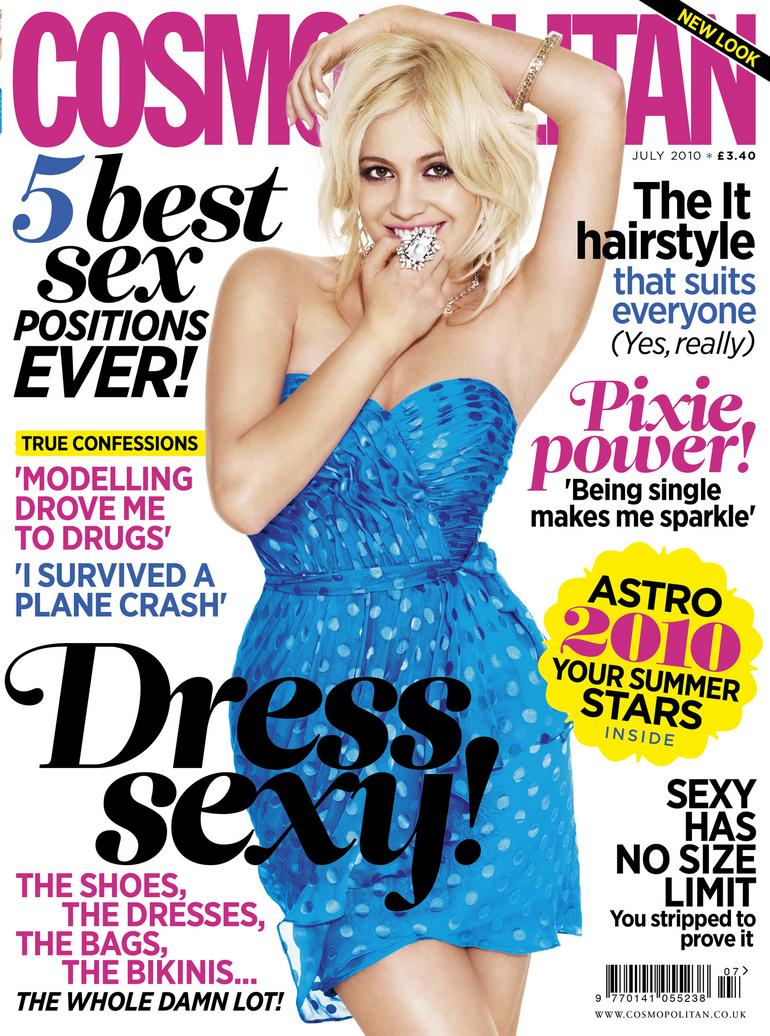 Cosmopolitan stresses 'fun and positivity' with redesign