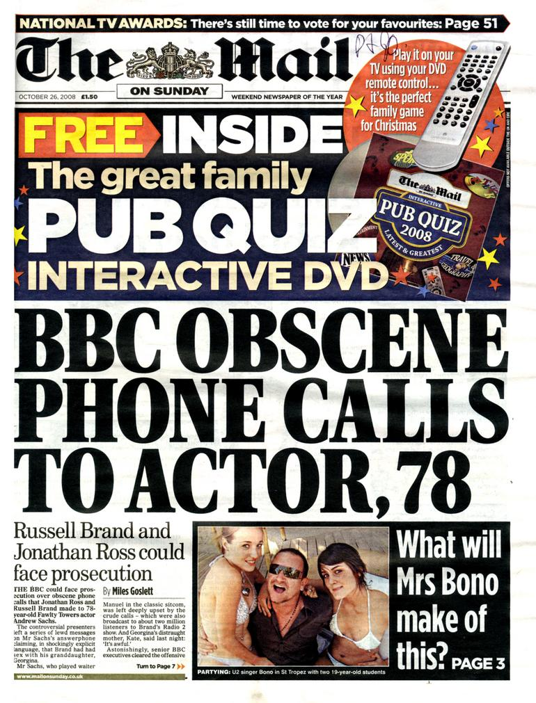 Mail on Sunday launches bid for Christmas number one