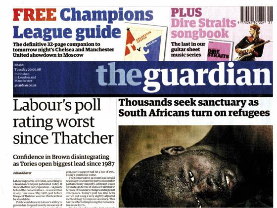 Guardian scoops three prizes at One World Media Awards