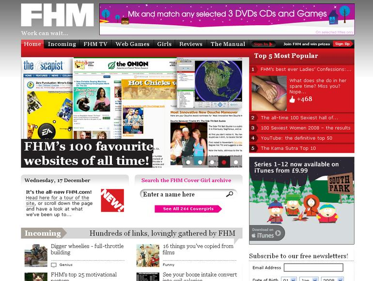 ITN to produce video for FHM