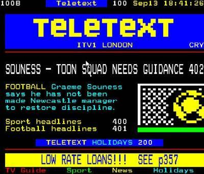 Teletext news to disappear from TV screens next year